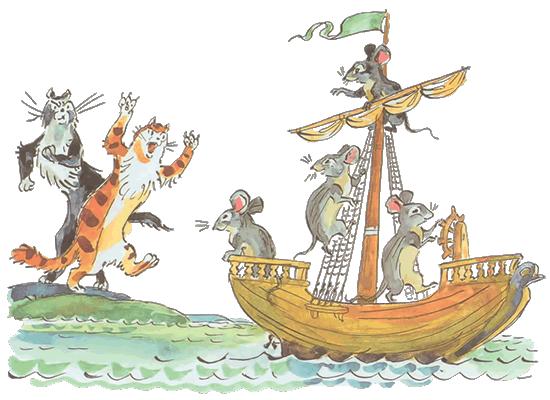 Стих по реке плывет кораблик о чем он